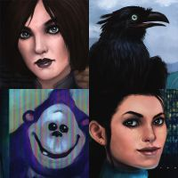 Dreamfall Close-ups by kedemel