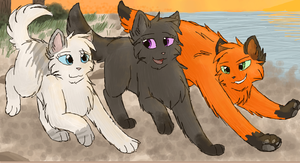 Echopond, Willowbound And Wavefoot by CascadingSerenity