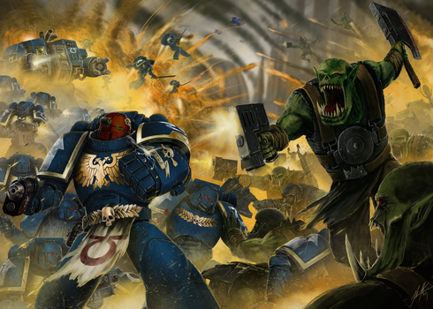 There is only war by John-Stone-Art