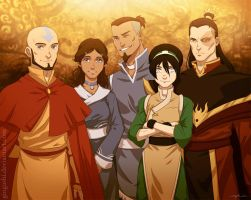 Avatar: The Last Airbender by KingdomKeeper1121