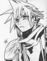 Cloud strife by samdacobainfan