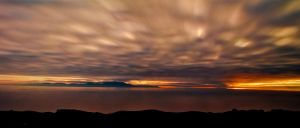 Sun Set by Stewart Island by 2binspired
