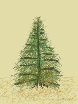 Pine Tree (SketchThis Challenge) by Diathima