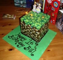 my birthday cake by allhailinsanity