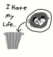 I Hate My Life... by steamdiesel