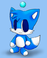 Blue Fox Chao by Rika-of-Thunder