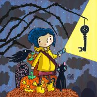 Coraline by Sillyrabs