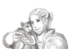 Livestream - Anders and Sir Pounce-a-lot by Y-n-Y
