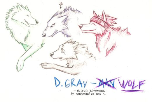 D. Gray-Wolf by wolfsouled