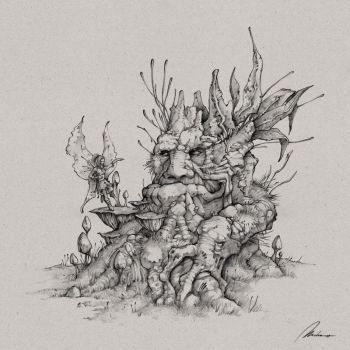 Treefolk and faerie by Dreamphaser