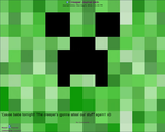 Creeper journal skin by TVZRandomness