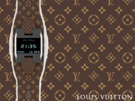 Louis Vuitton Digital Watch by EnricoMulyadi