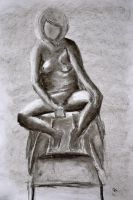 Figure Drawing 3 - by Xier by ongzx