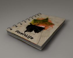 notebook by pixel4life