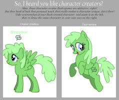 Character Creator Meme by Feather-Flare