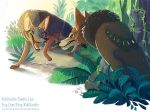 Jungle Book - The Jackal by kiki-doodle