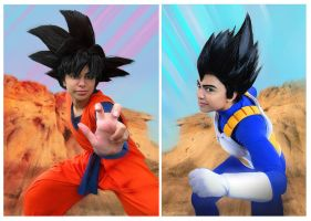 DBZ Cosplay VERSUS by TechnoRanma