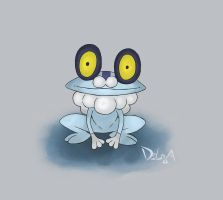 Froakie by delgalessio