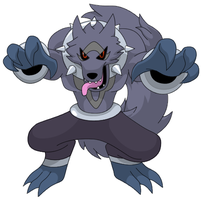 Werewolf Pokemon by KingofAnime-KoA
