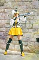 Mami Tomoe - Fighting Witches by HauntedKing