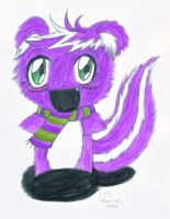 Purple Fluffy for Nire-chan by mangameow