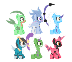 Pokepony Foal Adoptables [CLOSED] by CuppieCakeAdopts