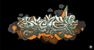 Smoke logo by Synthaesthetic