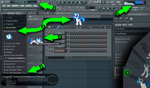 Vinyl Scratch Flstudio Skin and Plugin Preview by ShinodaGE