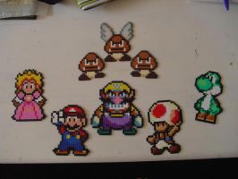 Mario - Hama Beads by acidezabs