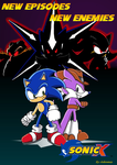Sonic Club contest: Sonic X ad by adamis