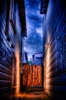 HDR - Dead End by xelement