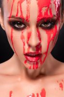 Bloody Face by VitaliyReznichenko