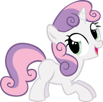 Sweetie Belle Fun by sircinnamon