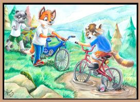 Timothy's Training Wheels by Foxfan1992