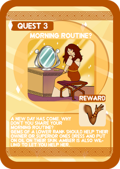Oikia Elektrou Quest 3: Morning routine? by Atanapotinija