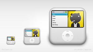 iPhone replacement icon-ipod by hehedavid