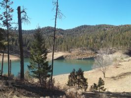 Ruidoso Lake by FearBeforeValor