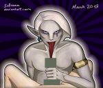 Ghirahim's tongue and Link's member [censored] by Lumasy
