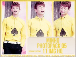 Minho (SHINEE) - PHOTOPACK#05 by JeffvinyTwilight
