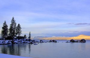 Winter Arrives at Lake Tahoe by sellsworth