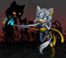 Battle with one's own shadow by L0uizer0