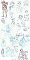 Oh Gods, Discworld sketches by Not-Quite-Normal