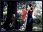 Beren finds Luthien by Gala-maia