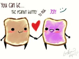 PB and J by XSkelletonVampX