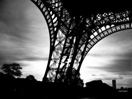 "One ""leg"" of the Eiffel Tower by matejkovaclc"