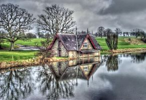 Boat House by inkedpt