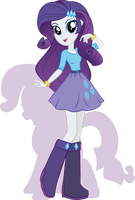 Equestria Girls - Rarity by Rariedash