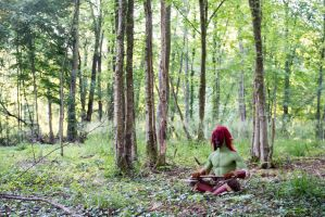Meditation - Warcraft, Forest Troll, Horde Cosplay by Carancerth