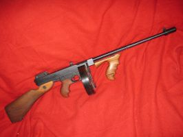 My Tommy Gun 45cal by vonmeer