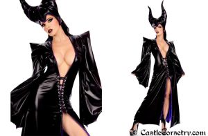 Maleficent by CastleCorsetry
